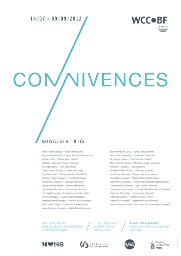 Connivences_artistes en affintiés été 2012