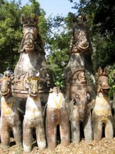 Ayanaar horses Tamil Nadu India